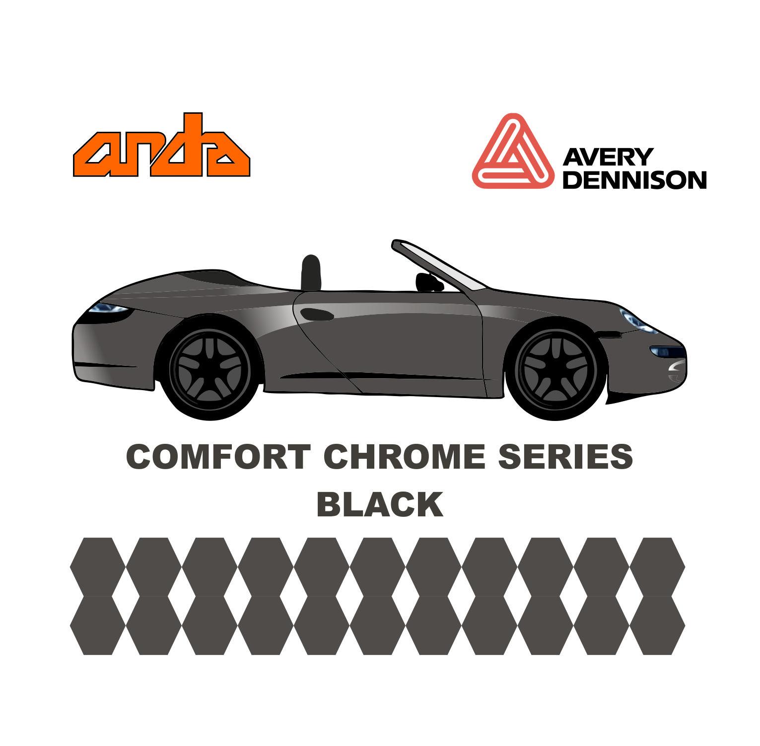 Avery Dennison- SWF Comform Chrome Black 1