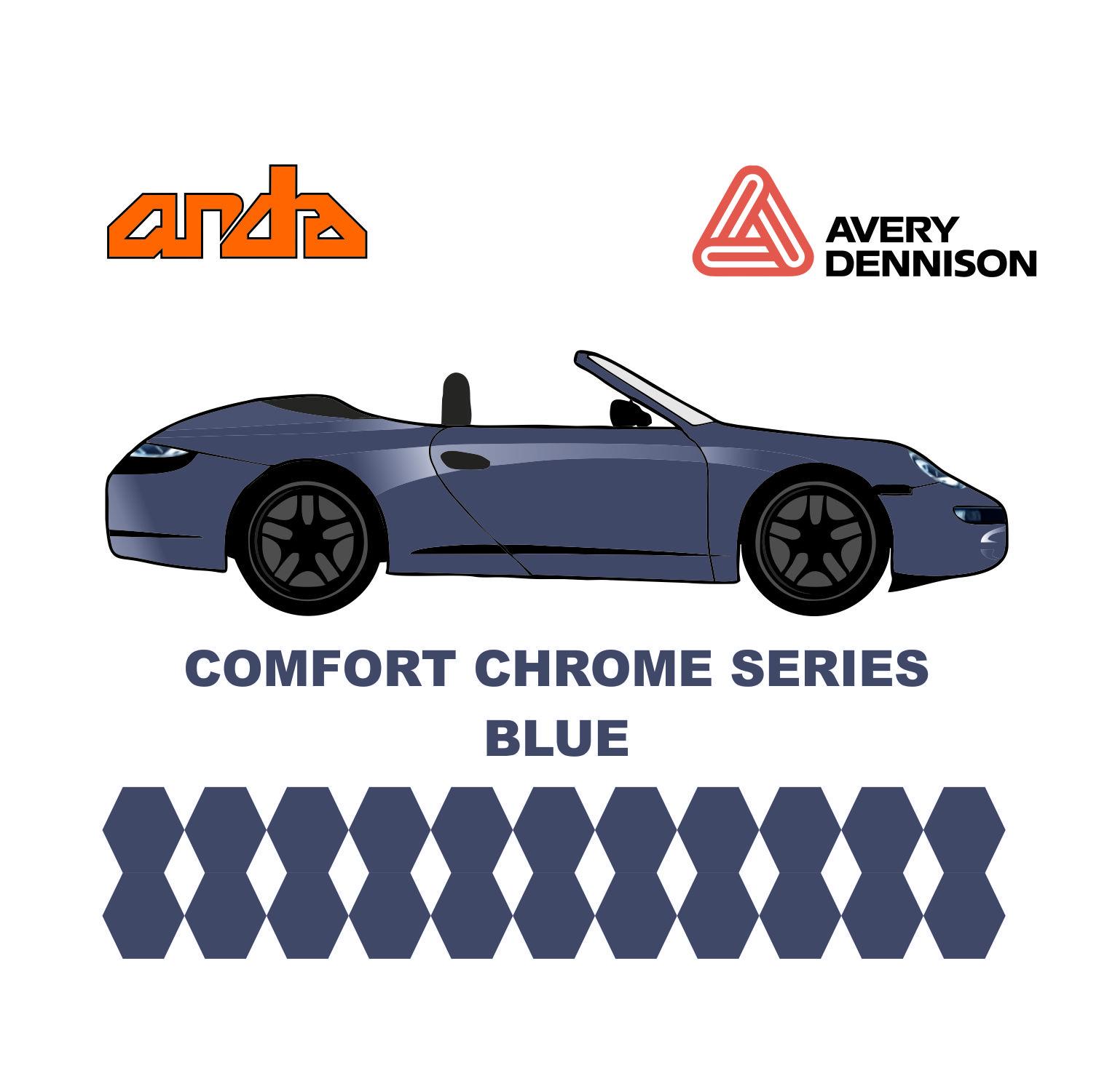 Avery Dennison- SWF Comform Chrome Blue 1