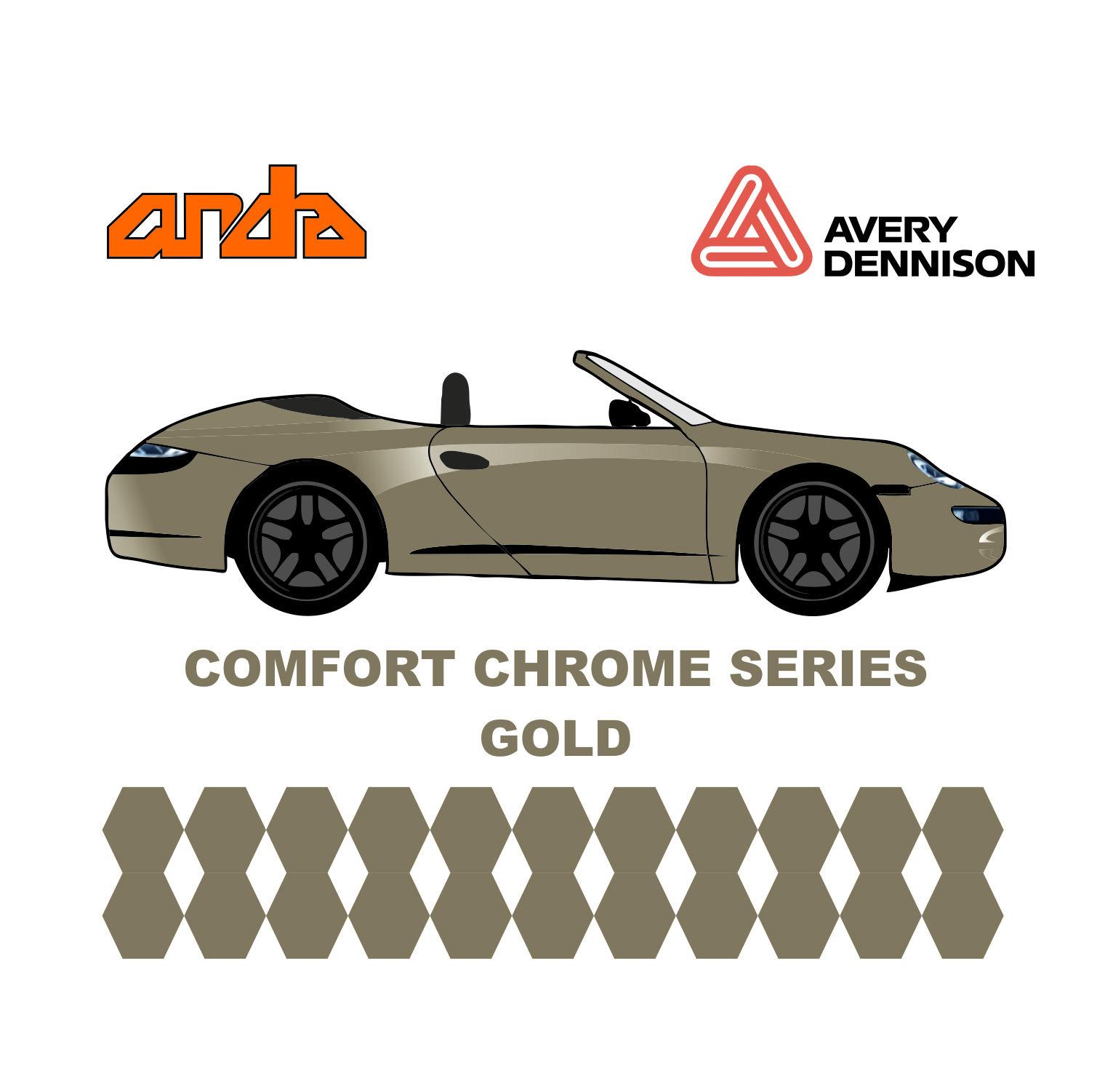 Avery Dennison- SWF Comform Chrome Gold 1