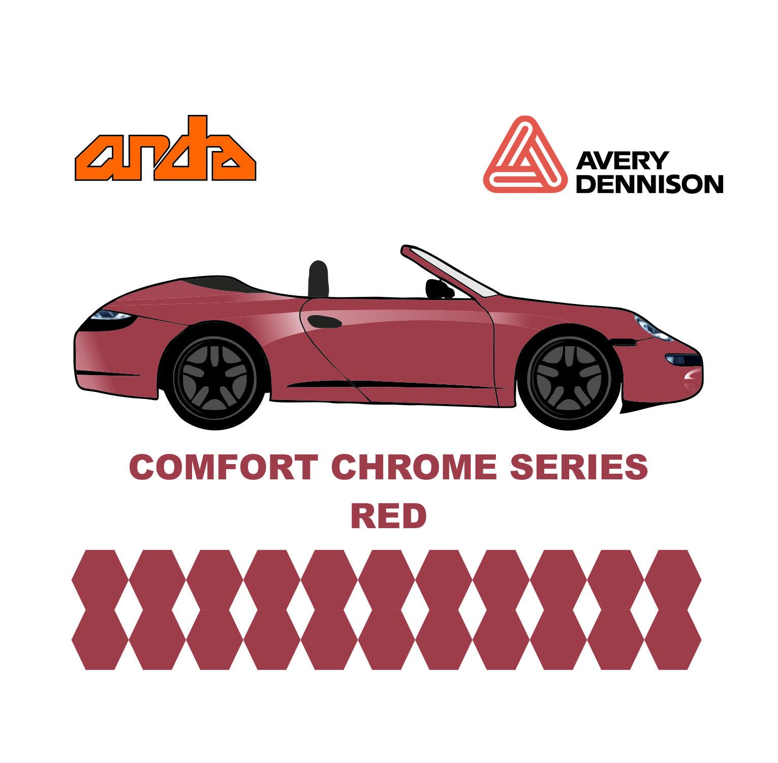 Avery Dennison- SWF Comform Chrome Red 1