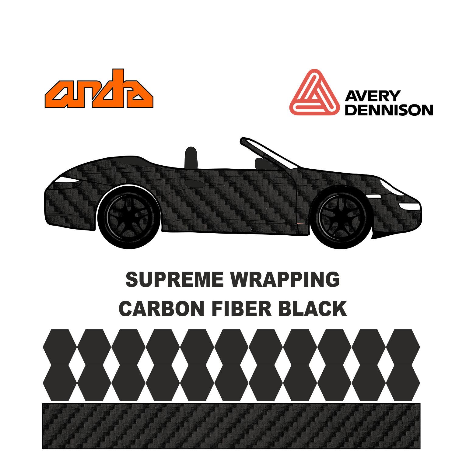 Avery Dennison- SWF Carbon Fiber Black 1