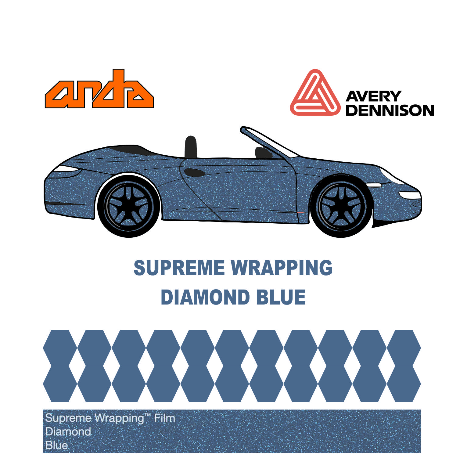 Avery Dennison- SWF Diamond Blue 1