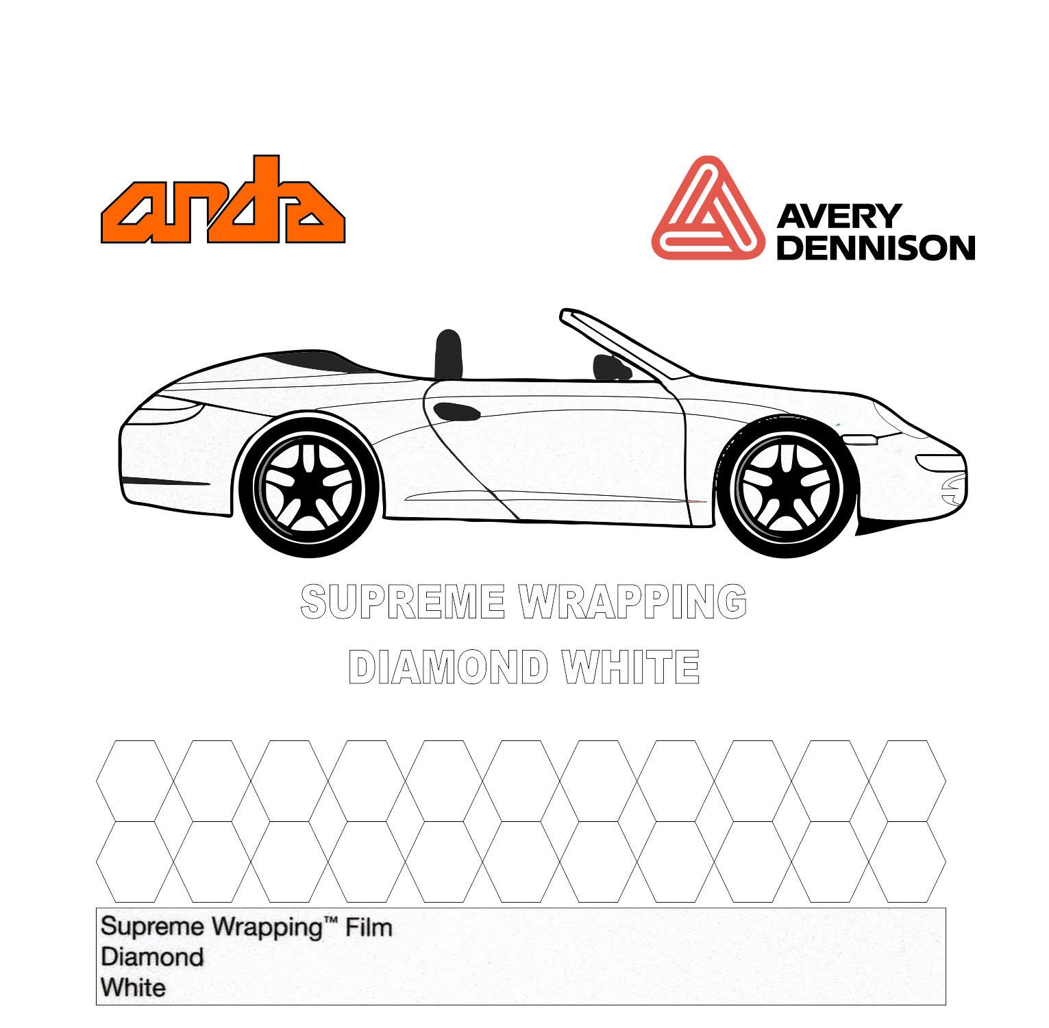 Avery Dennison- SWF Diamond White 1