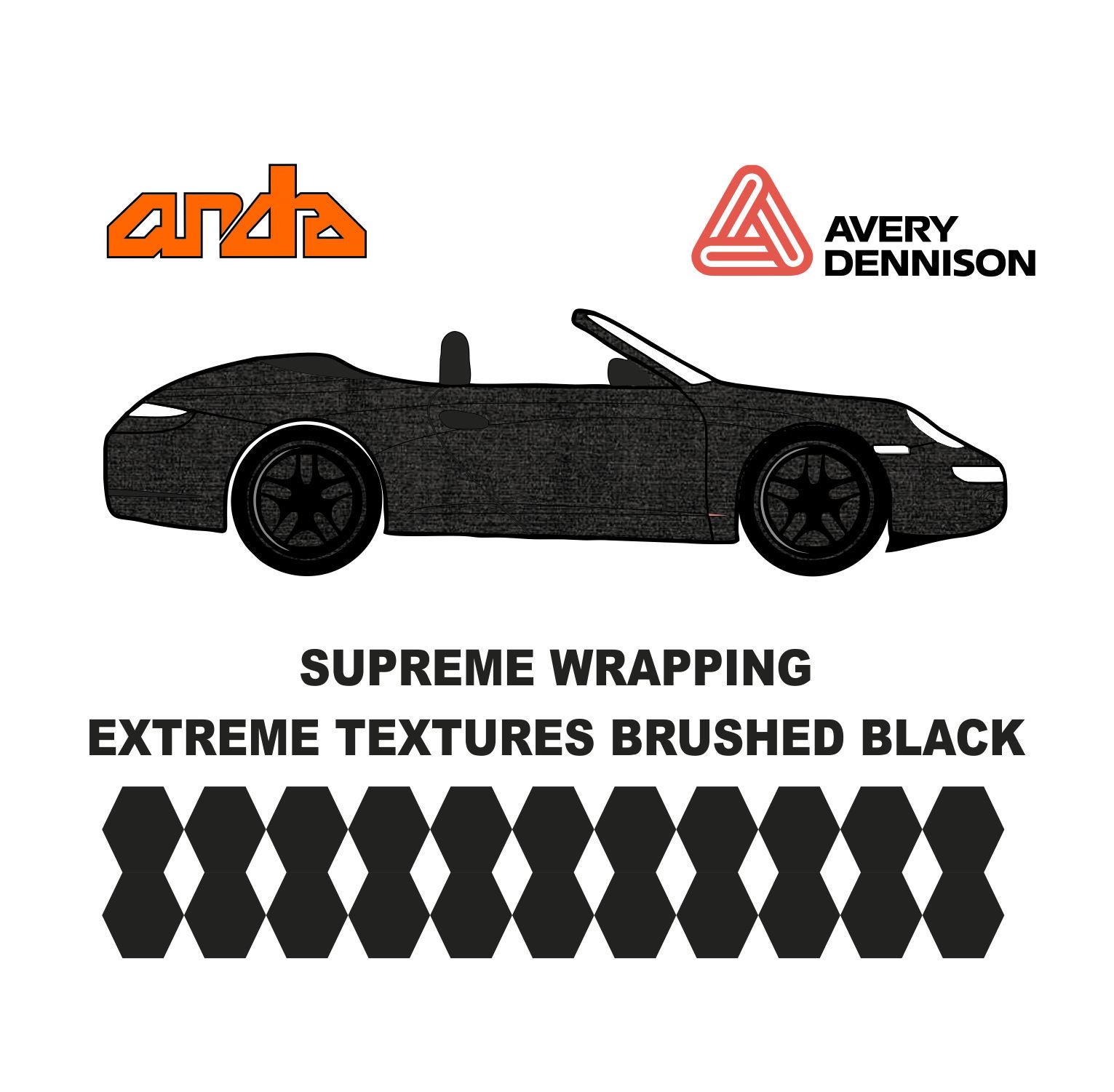 Avery Dennison- SWF Extreme Textures Brushed Aluminium 1