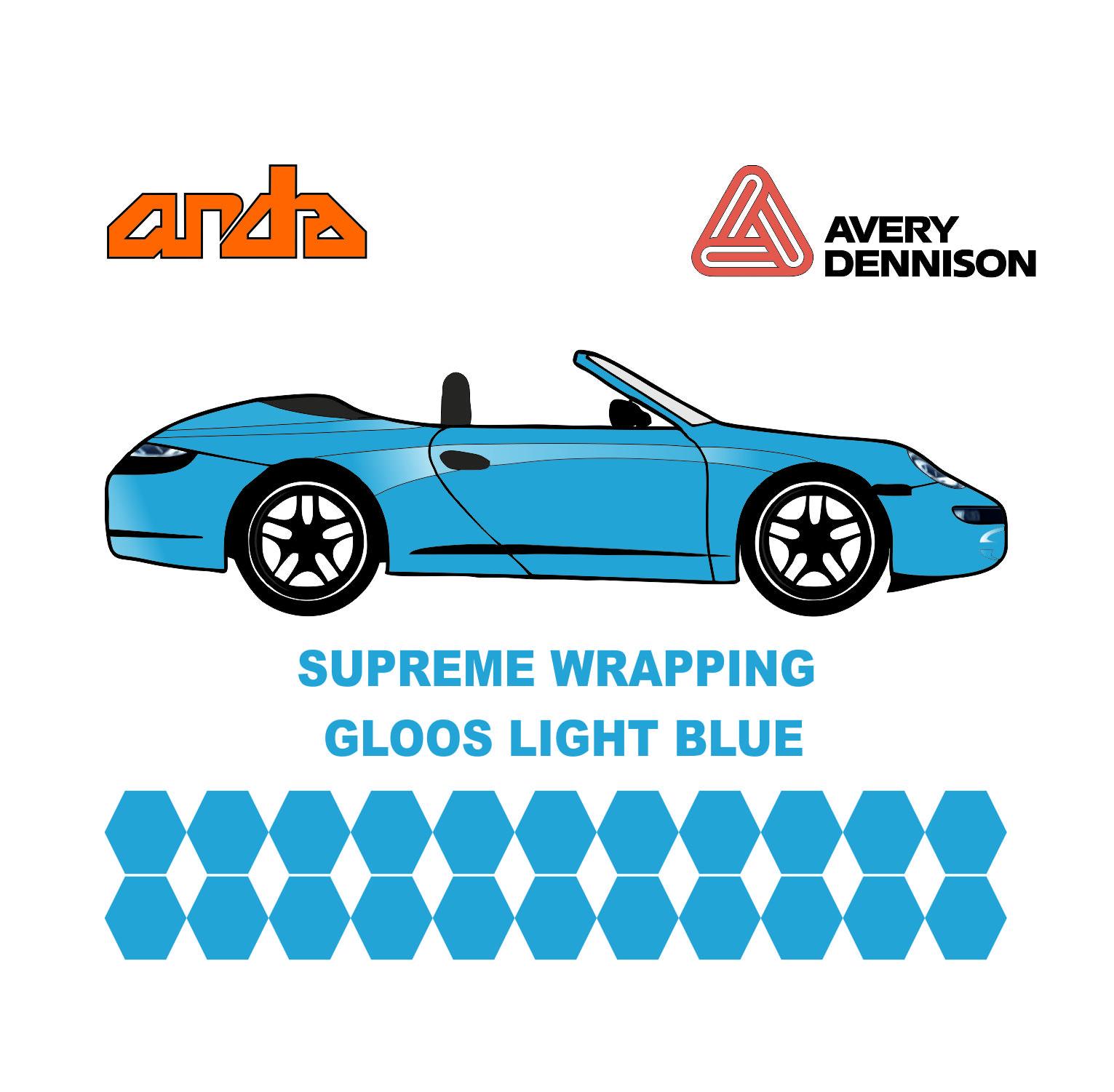 Avery Dennison- SWF Gloss Light Blue 1
