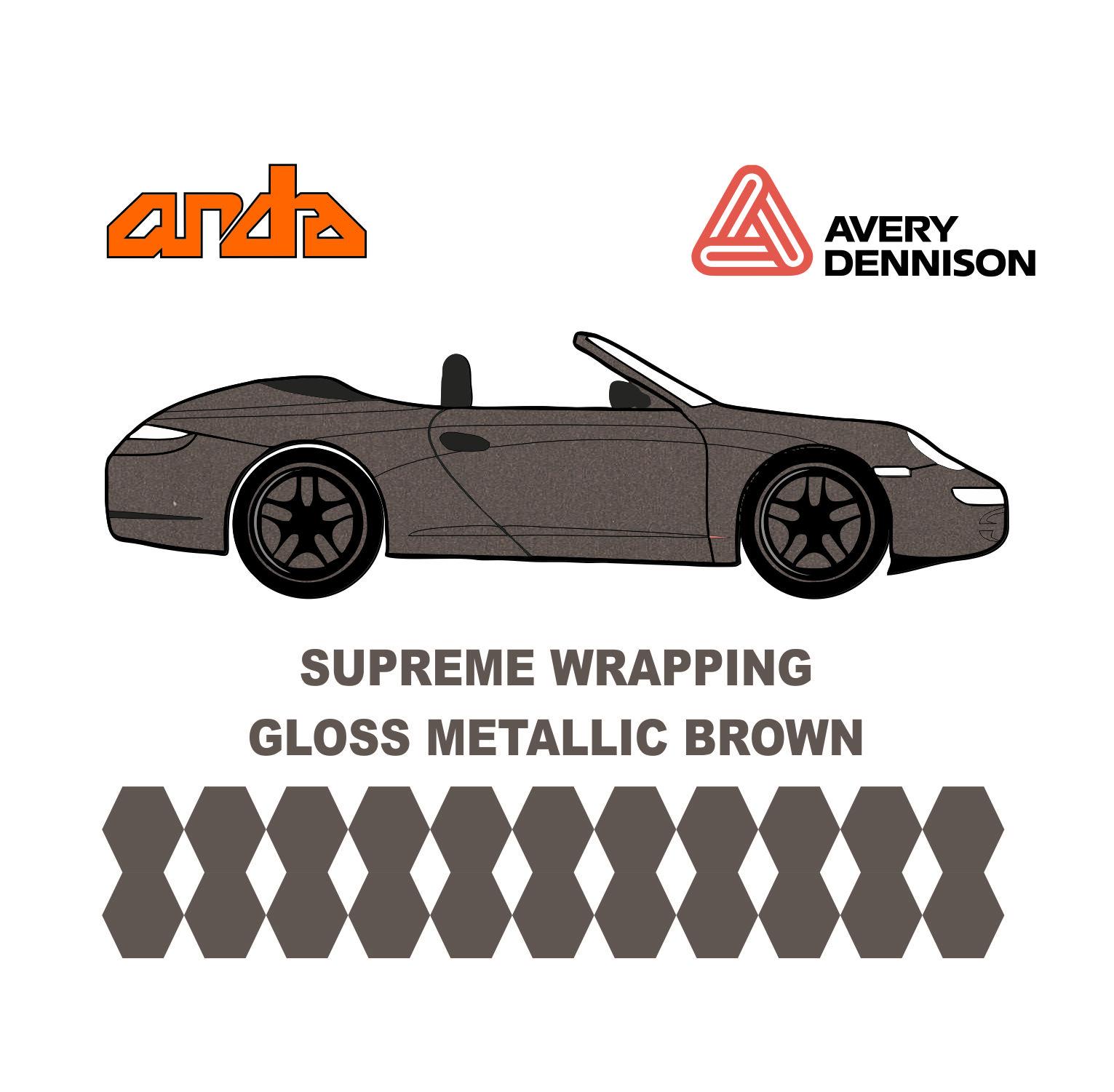 Avery Dennison- SWF Gloss Metallic Brown 1