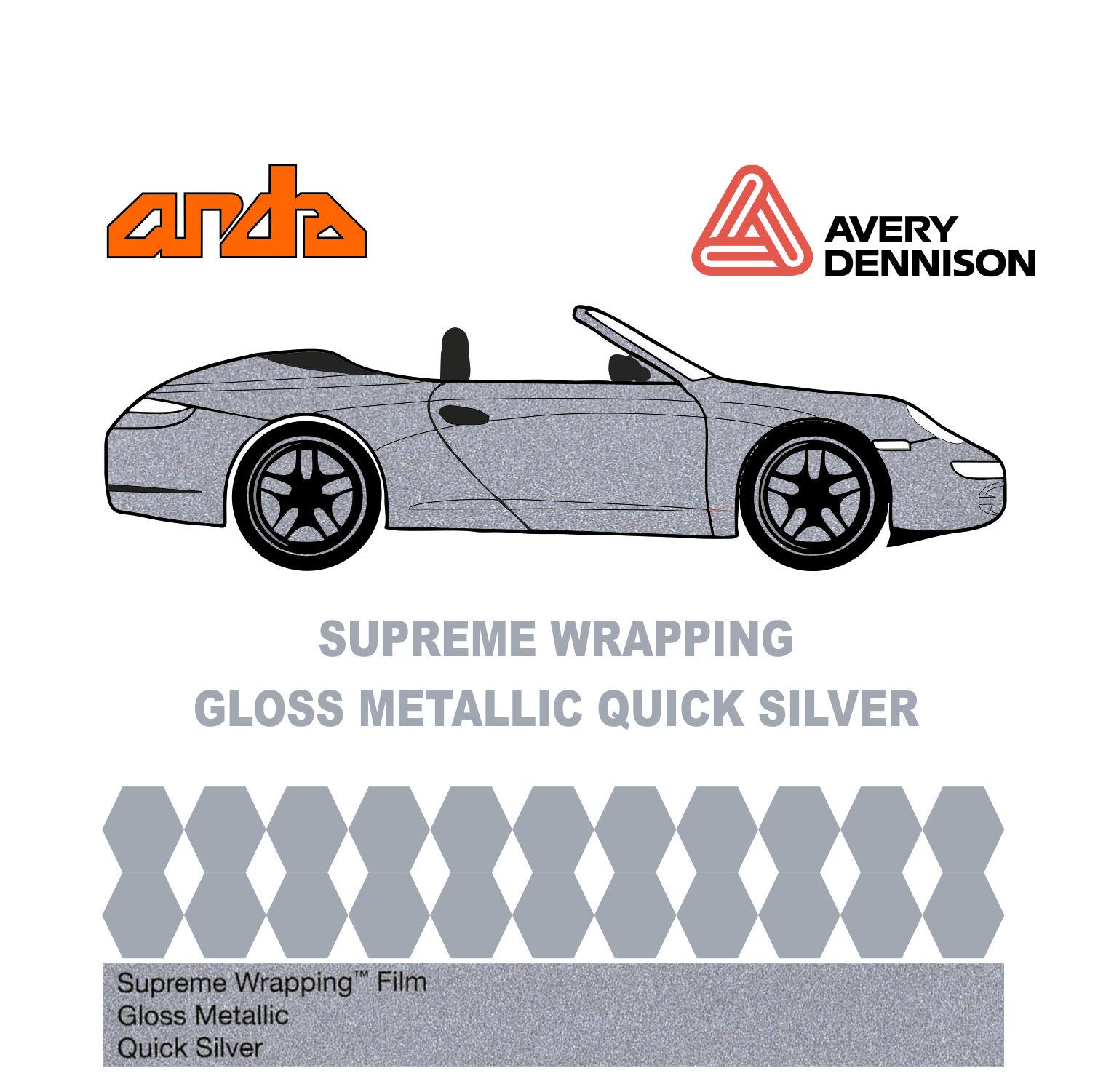 Avery Dennison- SWF Gloss Quick Silver 1