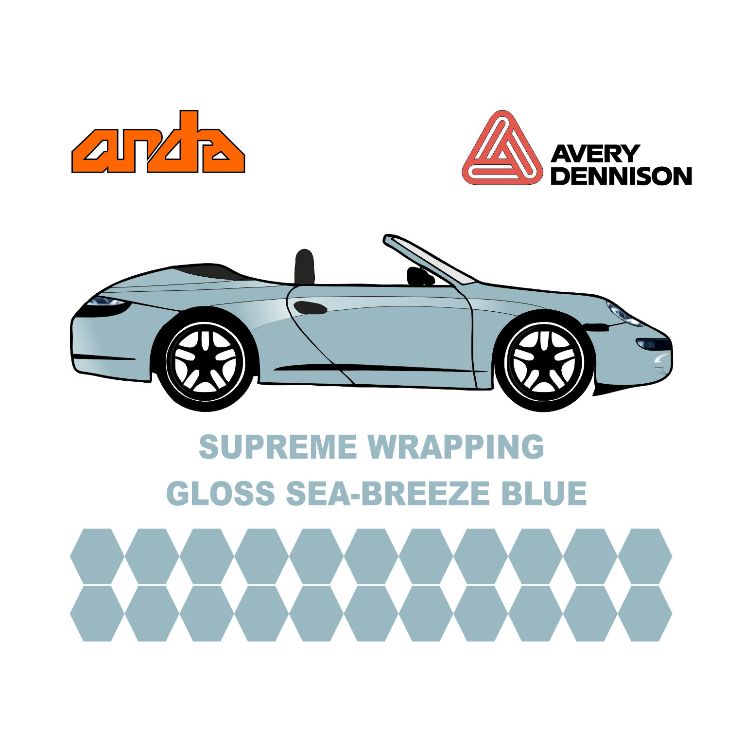 Avery Dennison- SWF Gloss See Breeze blue 1