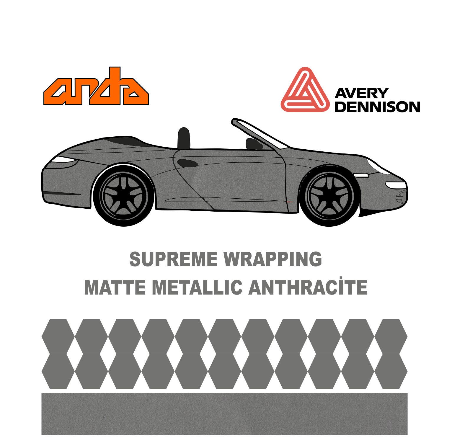 Avery Dennison- SWF Matte Metallic Antracite 1