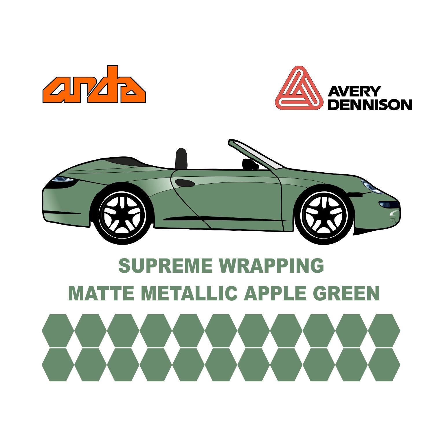 Avery Dennison- SWF Matte Metallic Apple Green 1