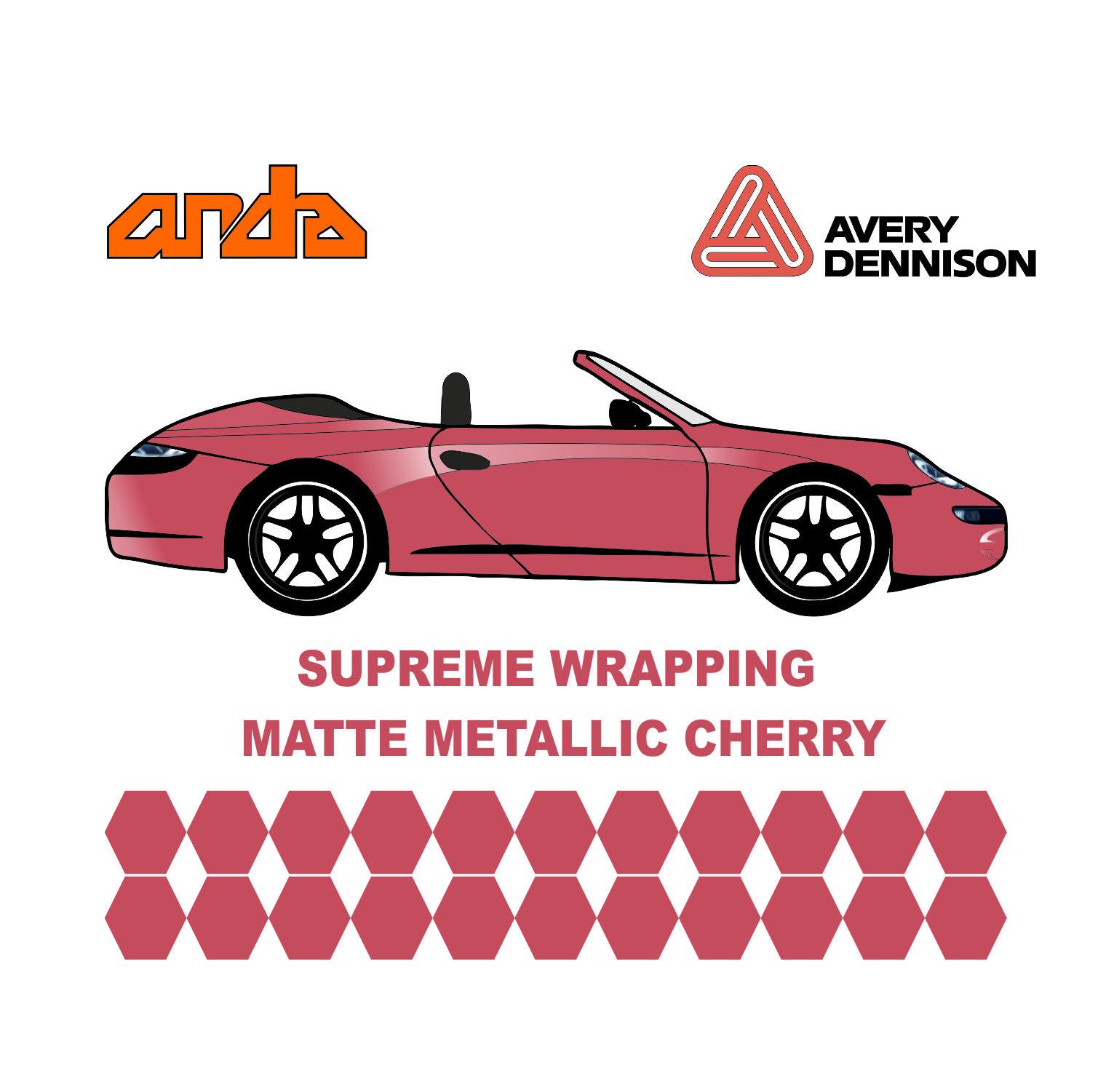 Avery Dennison- SWF Matte Metallic Cherry 1