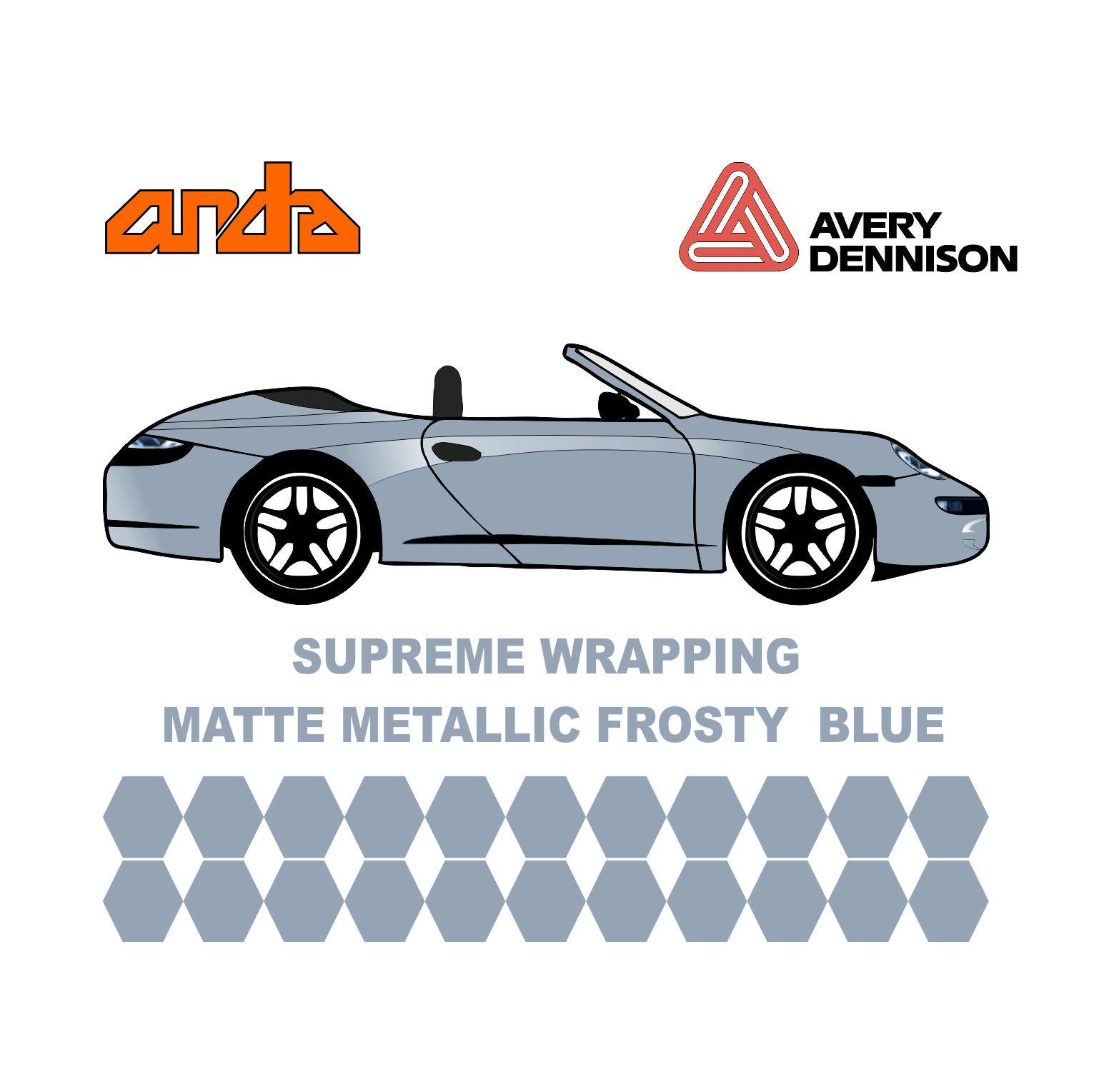 Avery Dennison- SWF Matte Metallic Frosty Blue 1