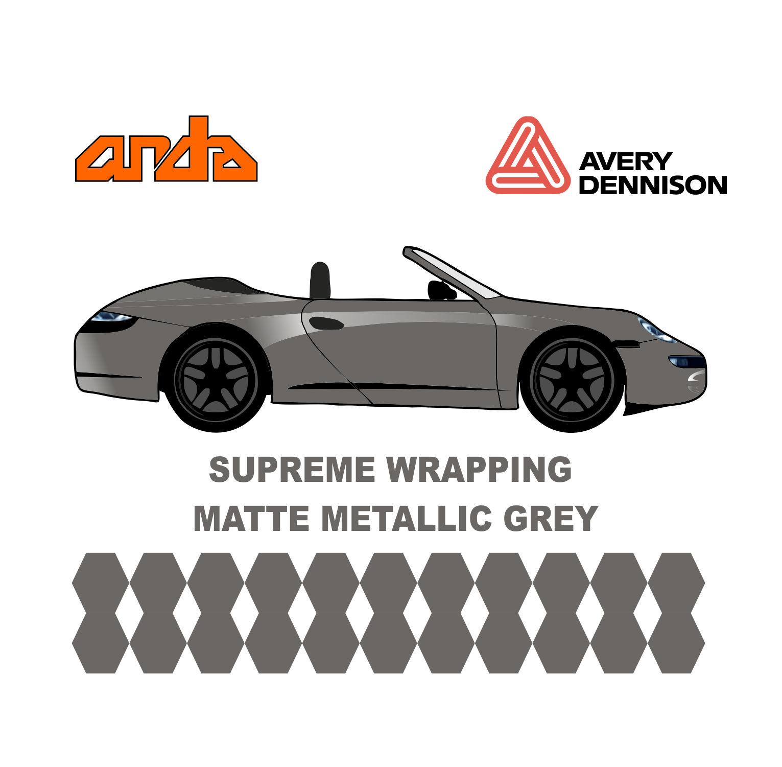 Avery Dennison- SWF Matte Metallic Grey 1