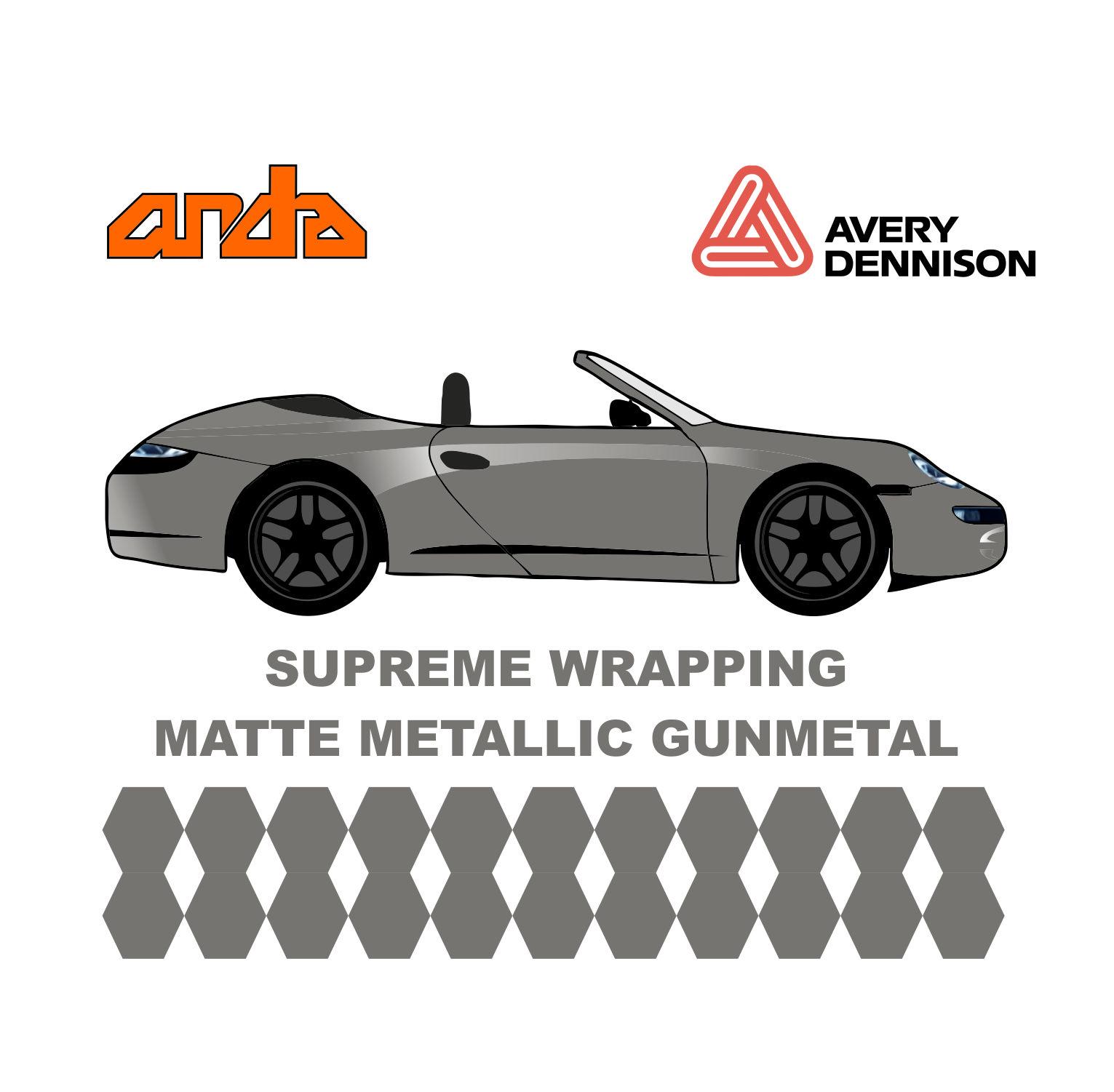 Avery Dennison- SWF Matte Metallic Gunmetal 1