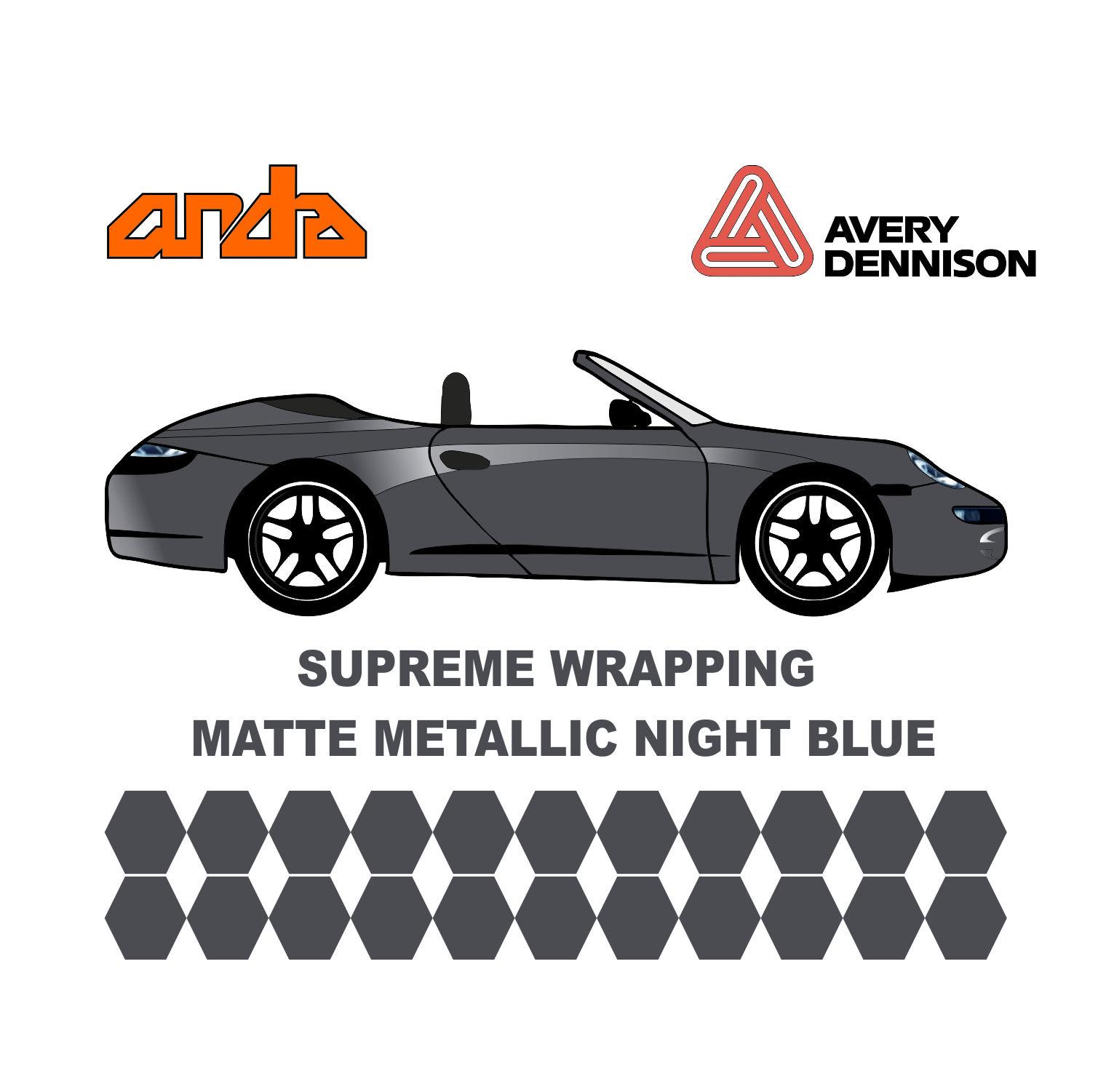 Avery Dennison- SWF Matte Metallic Night Blue 1