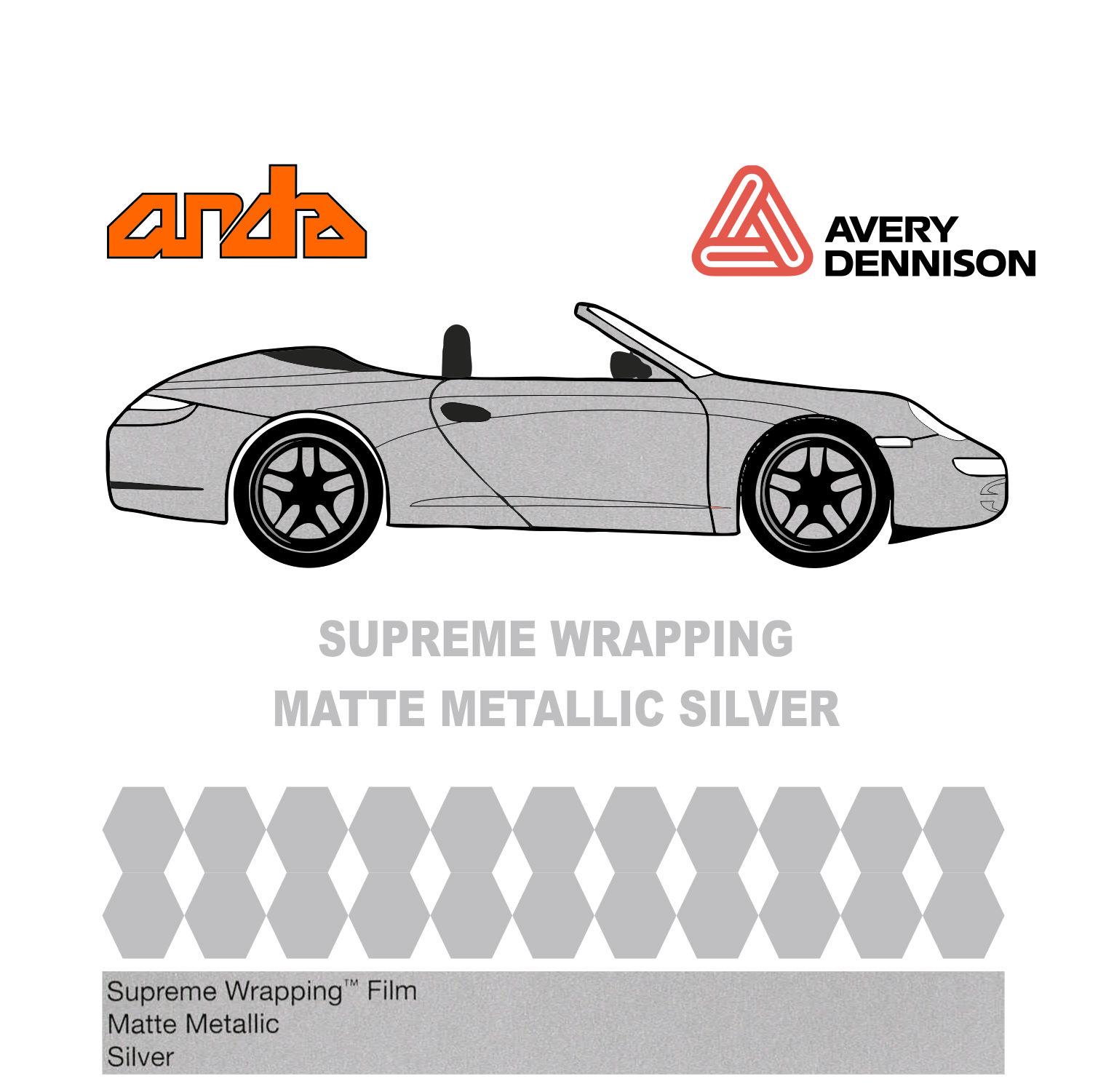 Avery Dennison- SWF Matte Metallic Silver 1