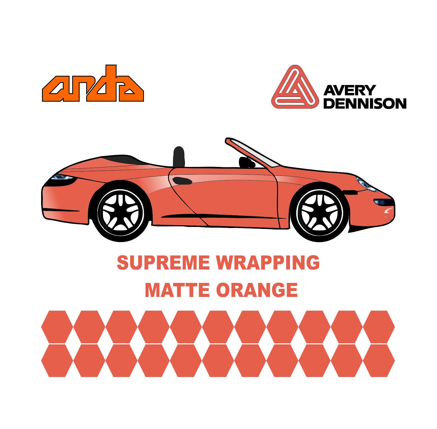 Avery Dennison- SWF Metallic Matte Orange 1